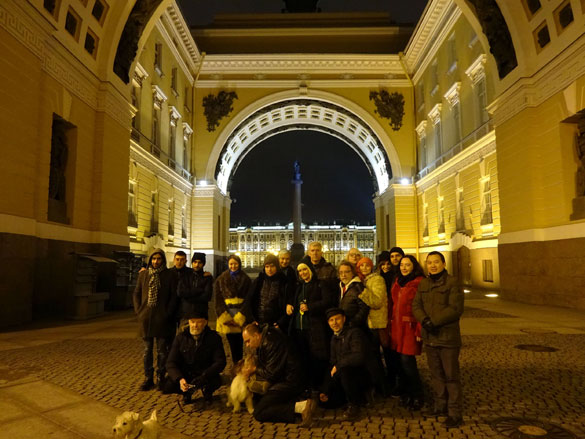 "International Art Forum - St.Petersburg Russia ""Winter Insomnia"""