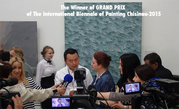 OTGO is The Winner of Grand Prix of The International Biennale of Painting Chisinau-2015