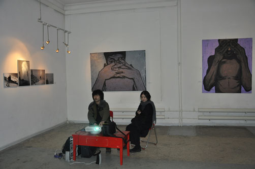 """Smoking in the Brain"" Exhibition in Ulaanbaatar, Mongolia"